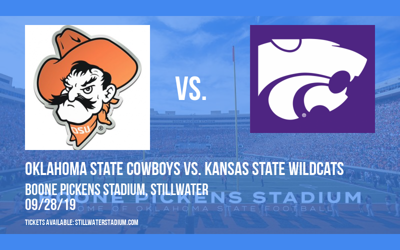 Oklahoma State Cowboys vs. Kansas State Wildcats at Boone Pickens Stadium