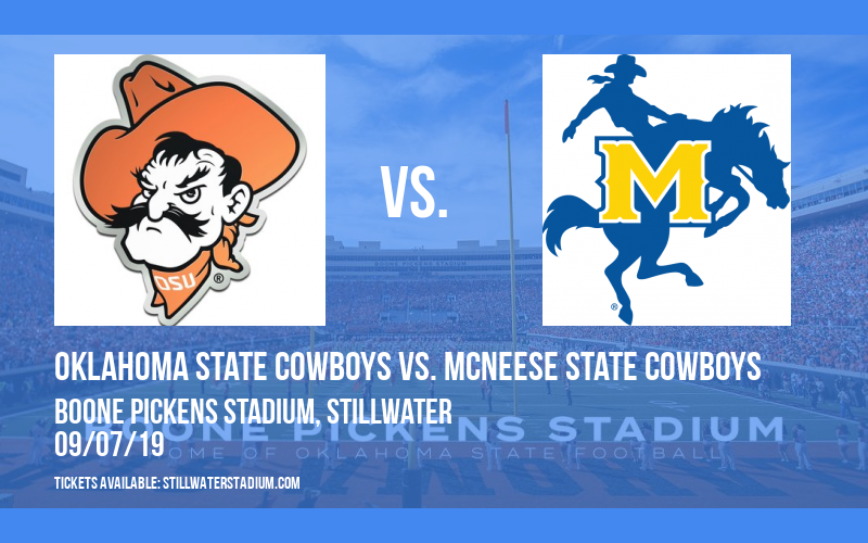 Oklahoma State Cowboys vs. McNeese State Cowboys at Boone Pickens Stadium