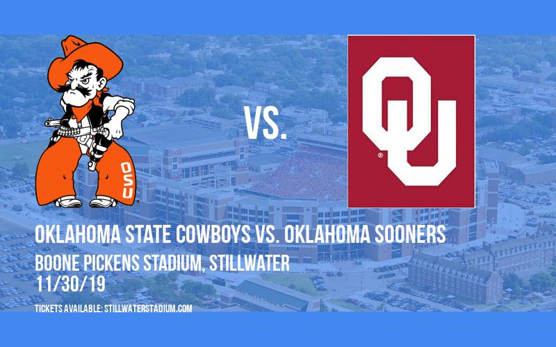 PARKING: Oklahoma State Cowboys vs. Oklahoma Sooners at Boone Pickens Stadium