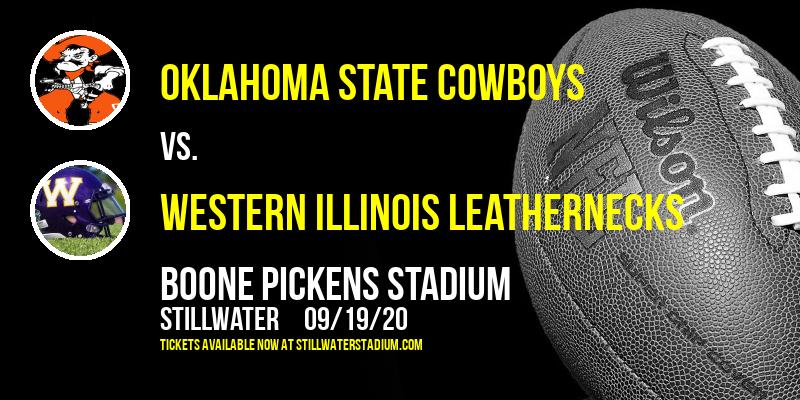 Oklahoma State Cowboys vs. Western Illinois Leathernecks at Boone Pickens Stadium
