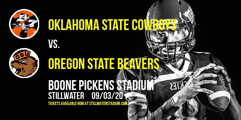 Oklahoma State Cowboys vs. Oregon State Beavers at Boone Pickens Stadium