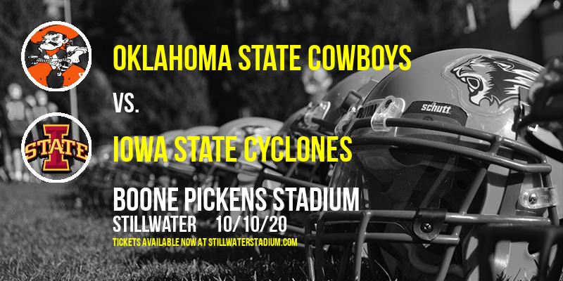 Oklahoma State Cowboys vs. Iowa State Cyclones at Boone Pickens Stadium